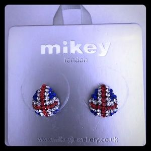 Mikey London sterling silver earring 🇬🇧